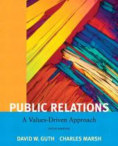Public Relations: A Value Driven Approach, Edition 5