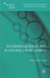Entrepreneurship and Economic Development