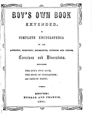 Boy s Own Book Extended PDF