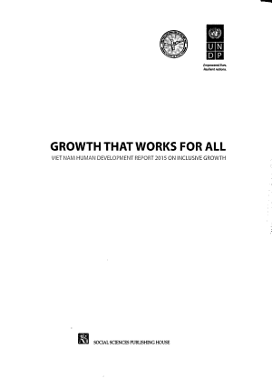 Growth that Works for All