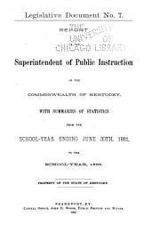 Legislative Documents, ...