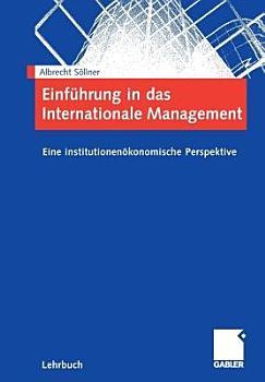 Einf  hrung in das Internationale Management PDF