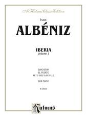Iberia, Volume I: For Piano