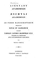 Aeschyli Agamemnon