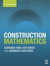 Construction Mathematics: Edition 2