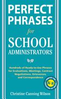 Perfect Phrases for School Administrators PDF