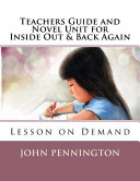 Teachers Guide and Novel Unit for Inside Out   Back Again Book