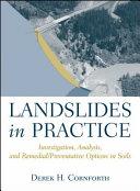 Download Landslides in Practice Book