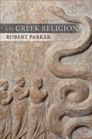 On Greek Religion PDF