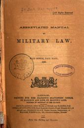 Abbreviated Manual of Military Law