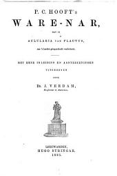 Ware-nar: dat is Aulularia van Plautus, na 's Landts gelegentheidt verduitscht