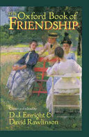 The Oxford Book of Friendship