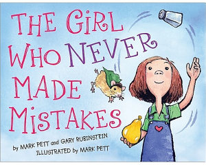 The Girl who Never Made Mistakes Book