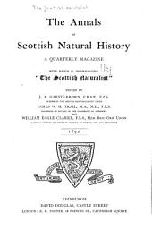 The Annals of Scottish Natural History: Issues 1-4