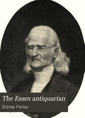 The Essex Antiquarian: Volume 3