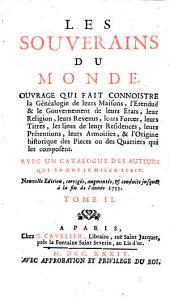 Les Souverains du monde. Nouv. ed: Volume2