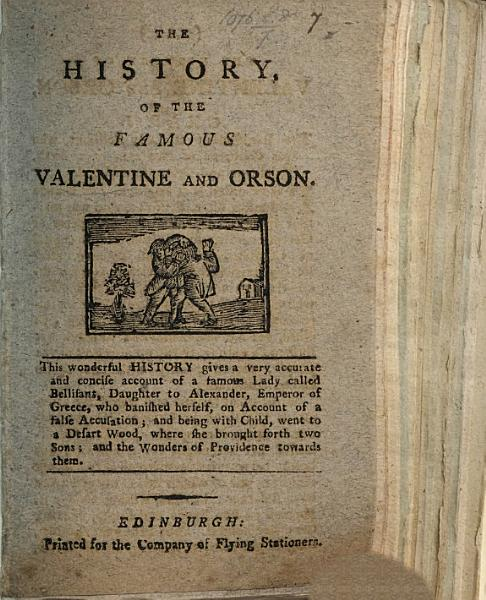 Download The history of Valentine and Orson Book