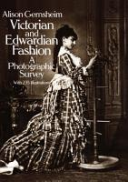 Victorian and Edwardian Fashion PDF