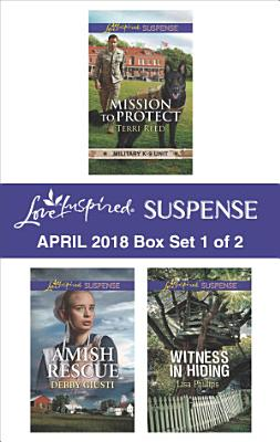 Harlequin Love Inspired Suspense April 2018   Box Set 1 of 2 PDF