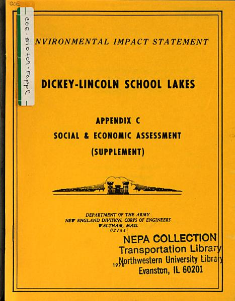 Download Dickey Lincoln School Lakes Project  ME NH VT Que  Book