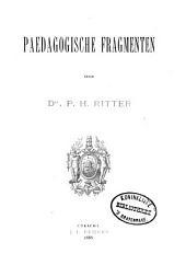 Paedagogische fragmenten
