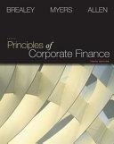 Principles of Corporate Finance   S P Market Insight