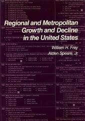 Regional and Metropolitan Growth and Decline in the US