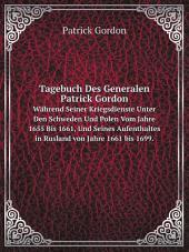 Tagebuch Des Generalen Patrick Gordon