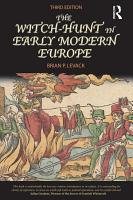 The Witch Hunt in Early Modern Europe PDF