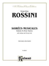 Soirées Musicales, Volume II (4 Duets): For Voice and Piano with Italian and French Text