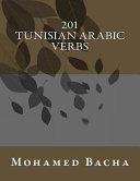 201 Tunisian Arabic Verbs PDF