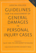 Guidelines for the Assessment of General Damages in Personal Injury Cases PDF
