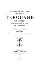 Un brief et vray récit de la prinse de Térouane et Hedin,