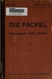Die Fackel: Ausgaben 249-260