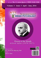 The International Journal of Indian Psychology, Volume 3, Issue 3, No. 6