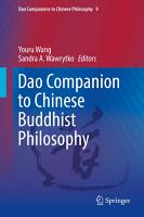 Dao Companion to Chinese Buddhist Philosophy PDF