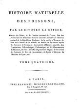 Histoire naturelle des poissons: Volume4