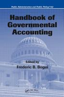 Handbook of Governmental Accounting PDF