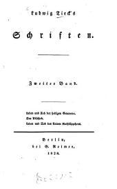 Schriften: Leben und Tod der heiligen Genoveva [¬u.¬a.]. 2
