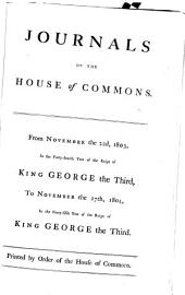 Journals of the House of Commons: Volume 59