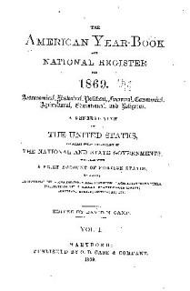 The american year book and national register for 1869