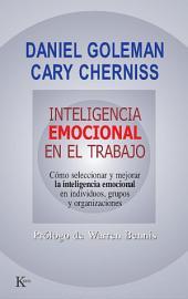 Inteligencia emocional en el trabajo: Cómo seleccionar, medir y mejorar la inteligencia emocional en individuos, grupos y organizaciones