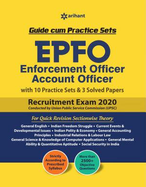 EPFO  Enforcement Offier  Account Officer Guide Cum Practice Sets 2020