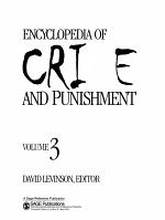Encyclopedia of Crime and Punishment PDF