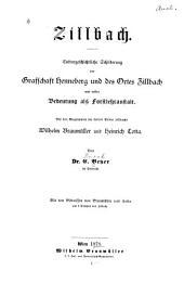 Zillbach. Culturgeschichtliche Schilderung der Grafschaft Henneberg und des Ortes Zillbach und dessen Bedeutung als Forstlehranstalt