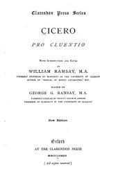 Cicero: Pro Cluentio