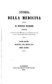 Storia della medicina: pt. 1 and 2. Medicina del medio evo