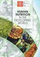 Human Nutrition in the Developing World PDF