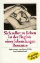 Sich selbst zu lieben ist der Beginn einer lebenslangen Romanze PDF