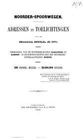 Noorder-spoorwegen: adressen en toelichtingen